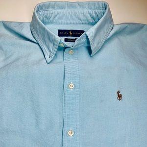 Polo Ralph Lauren Sky Blue Button Down Polo